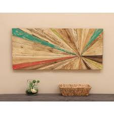 reclaimed wood wall free shipping today overstock