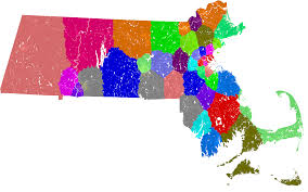 New York State Assembly District Map by Massachusetts Senate Redistricting