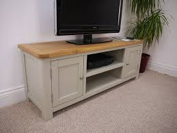 ebay tv cabinets oak aspen painted oak sage grey large tv plasma dvd video amazon co uk