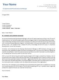 awesome collection of job cover letter template australia with