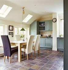 dining room tile floor