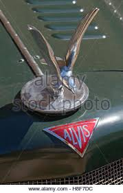 vintage car ornament of a eagle stock photo royalty free