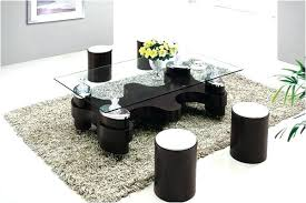 table with stools underneath wonderful coffee table with stools underneath youthsense org