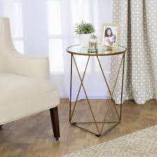 Small Metal Accent Table Table Alluring Accent Tables Archives Homepop Small Glass Top
