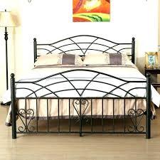 king iron bed frame medium size of iron bed frames vintage bedside