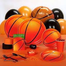 basketball party supplies basketball party time warehouse all begin at party time