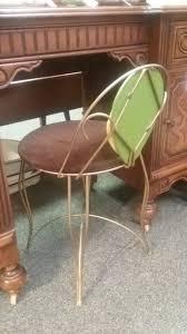 Vintage Vanity Chair Vintage Vanity With Stool Attic Picker Antiques