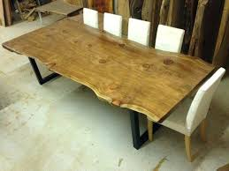 natural wood slab dining table large size of dining tables best