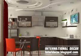 Kitchen Ceiling Design Ideas Gibson Board False Ceiling Design For Kitchen Interior With Modern