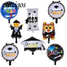 aliexpress buy 8pcs lot mini congrats grad foil balloons