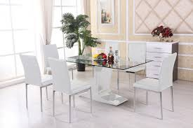 6 Seater Round Glass Dining Table Glass Dining Table Sets 6 Home Decorating Ideas U0026 Interior Design