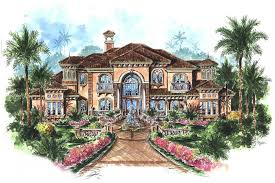 luxury mediterranean home plans 5 bedrm 6780 sq ft mediterranean house plan 175 1073