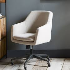 Upholstered Swivel Desk Chair Fabric Office Chair Upholstery Fabric Office Chair Furniture Desk