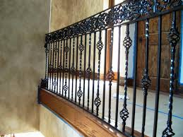 wrought iron stair railing kits ideas house exterior and interior
