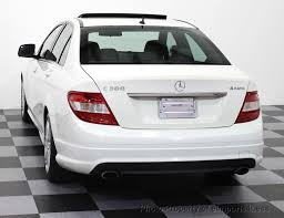2009 used mercedes benz c class c300 4matic sport package awd