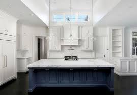 white kitchen cabinets with blue island cool 25 white kitchen navy island ideas https