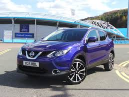 nissan qashqai youtube 2016 2016 16 nissan qashqai 1 5 dci tekna 5dr delivery miles in blue