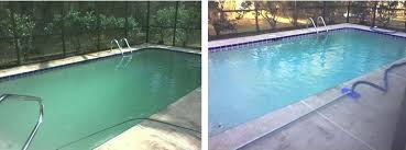 green pool water killing algae swimming pool algae care