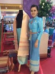 thai wedding dress thai wedding dress traditional bridal chut thai boromphiman sm9 ebay