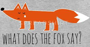What Did The Fox Say Meme - funny what does the fox say ring ding meme song t shirt spreadshirt
