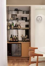 Bar Mirror With Shelves by Wall Bar 60 Awesome Designs Designs And Photos Home Decoo