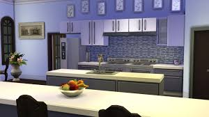 kitchen cabinet advertisement mts purple backsplash kitchen mod the sims modern backsplashes
