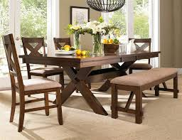 Picnic Table Dining Room Sets Dining Room Bench Include Seat Cushion Complete With Dining Table