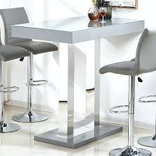 bar height glass table rectangle bar table mod bar height rectangular bar table white