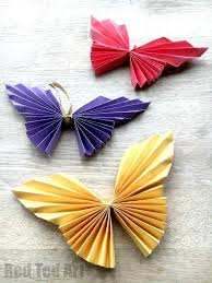 easy paper butterfly frame decoration origami butterfly and