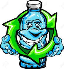 imagenes animadas sobre el reciclaje imagen vectorial de dibujos animados de una feliz sonrisa botella de