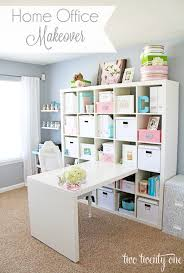 Pink Craft Room - 10 creative craft rooms and home offices classy clutter