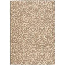 tan rectangle home decorators collection outdoor rugs rugs