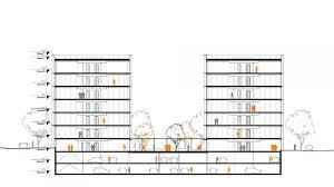 immeuble de bureaux etude pour un immeuble de bureau à massy 91 projets brunet