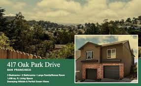 houses for sale in san francisco for sale 417 oak park drive san francisco anchor realty inc