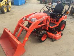 2013 kubota bx2370 compact tractor w la243 loader u0026 rck60b23bx