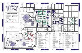 tcu parking map tcu koehler center events