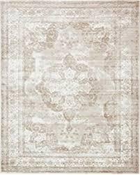 Powder Blue Area Rug Amazon Com 4620 Distressed Cream 7 U002710x10 U00276 Area Rug Carpet Large