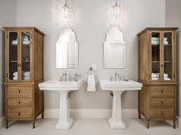 Media Storage Pedestal Amazing Pedestal Sink Decorating Ideas For Bathroom Traditional