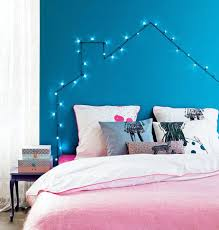 Light Up Headboard 18 Whimsical Ways To Decorate With String Lights Brit Co