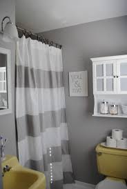 Pink And Grey Shower Curtain by Best 25 Grey Yellow Bathrooms Ideas On Pinterest Yellow