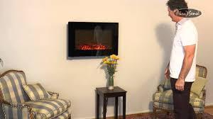 Fire Sense Electric Fireplace - fire sense wall mounted electric fireplace 60757 1400w 4600 btu