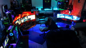 Best Gaming Rooms - my furious pc gaming rig 2013 tron derezzed remix ultimate