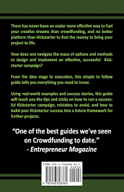crowdfunding with kickstarter a beginner u0027s guide to crowdfunding