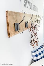 easy diy wall hooks simply kierste design co