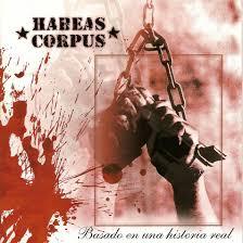 acta del habeas corpus