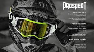 tinted goggles motocross new scott prospect mx goggle range w austin forkner youtube