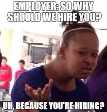 Job Interview Meme - awkward job interview moments and ways to overcome them