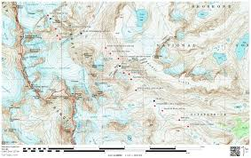 How To Read A Topographic Map Guide To The Complete Wind River High Route Andrew Skurka