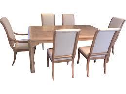 drexel heritage dining room set drexel heritage burl ash dining set chairish