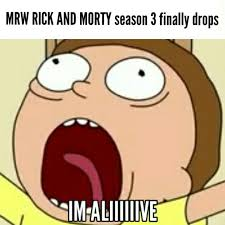 Jaw Drop Meme - i turned it into a meme morty it s a shitpost meme rickandmorty